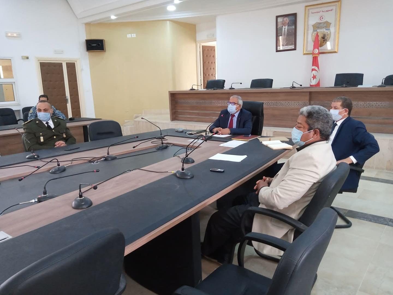 اجتماع اللجنة الجهوية لمجابهة جائحة كورونا
