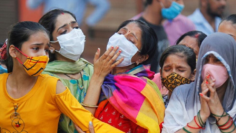 الهند تسجل 315 ألف إصابة بكورونا خلال 24 ساعة