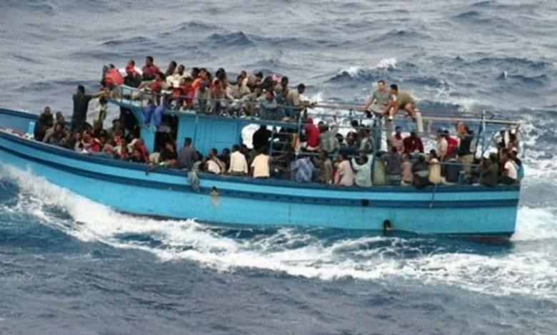 إيقاف 99 شخصا حاولوا اجتياز الحدود البحرية خلسة باتجاه إيطاليا