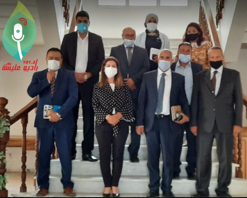 متابعة لزيارة الوفد المهتم بشؤون اللاجئين في ولاية قابس