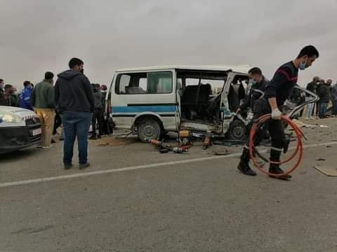 صفاقس : حادث مرور مروّع يودي بحياة 4 أشخاص