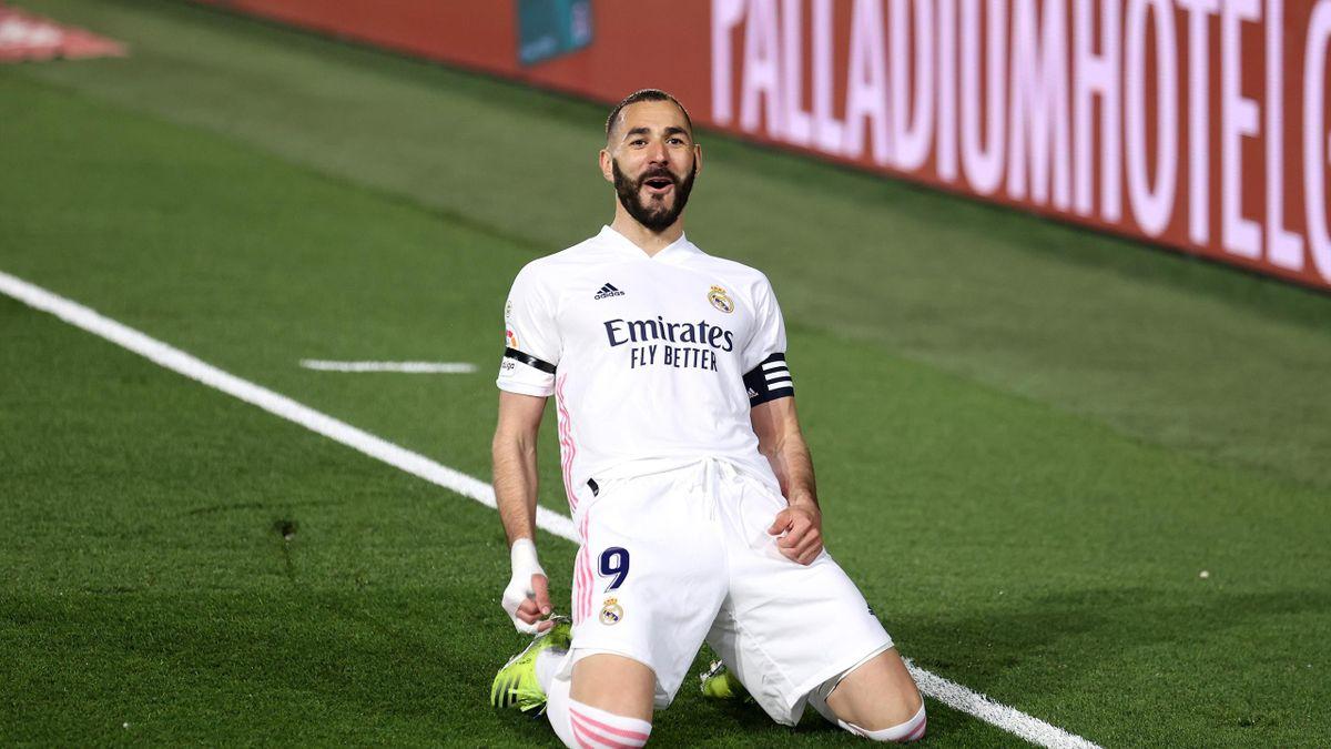 ريال مدريد يعلن إصابة بنزيمة بفيروس كورونا...