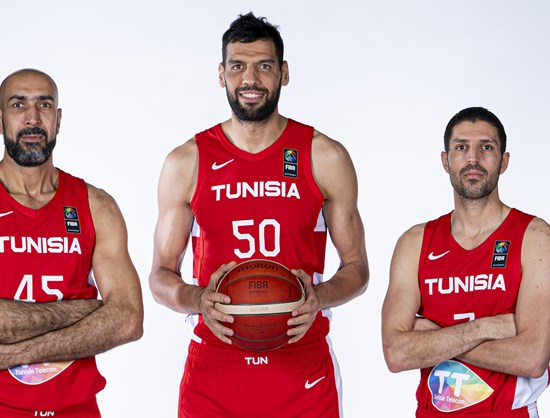 كرة السلة : قائمة لاعبي المنتخب التونسي المدعوين للتربص التحضيري الاخير قبل المشاركة في كأس افريقيا .