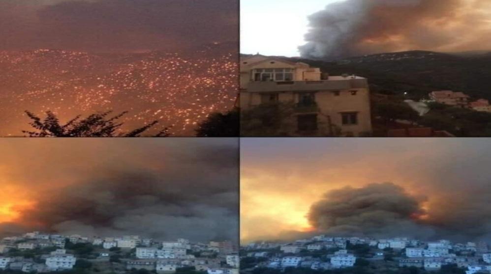 حرائق الغابات في الجزائر تودي بحياة 42 شخصا من بينهم 25 عسكريا