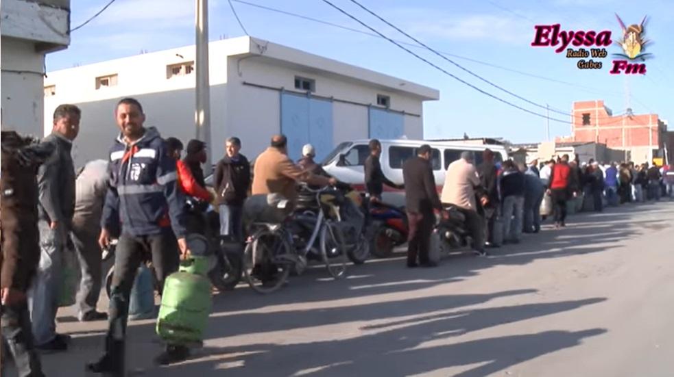 تواصل أزمة قوارير الغاز المسيل في ولاية قابس