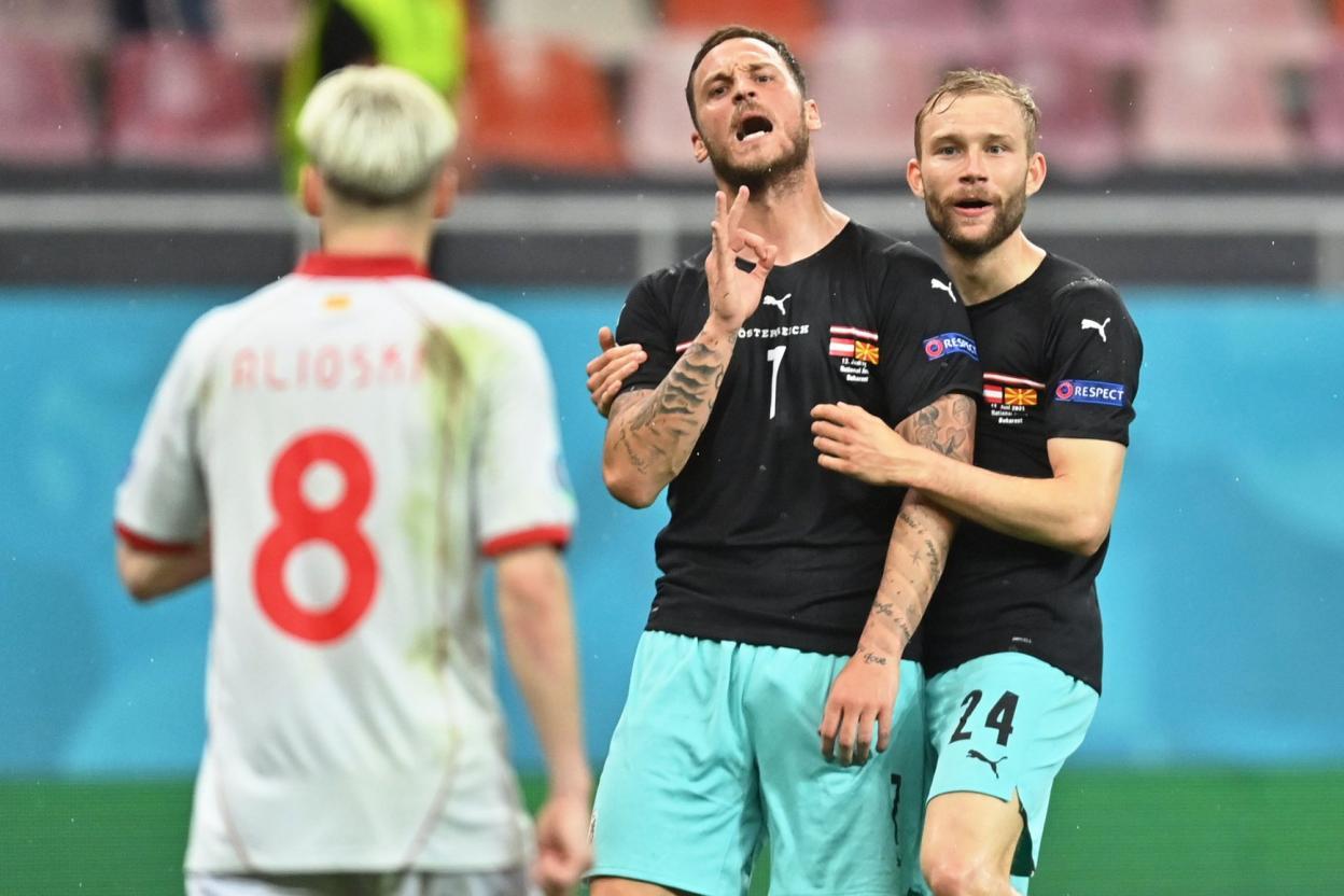 يورو2020: إيقاف اللاعب النمساوي أرناوتوفيتش...