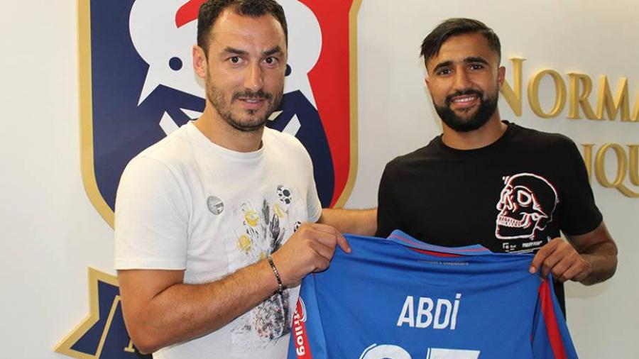 علي العابدي يتعاقد رسميا مع نادي كون الفرنسي